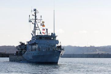 Minenjagdboot Weilheim Bild: Bundeswehr/Marcel Kröncke