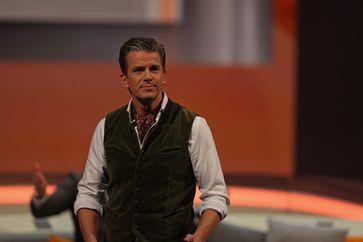 Markus Lanz bei seiner vorletzten Sendung von Wetten dass..? in Graz 2014