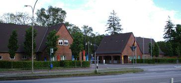 Bundespolizei: Haupttor der Bundespolizeiakademie in Lübeck