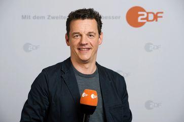 ZDF-Fußball-Reporter Oliver Schmidt