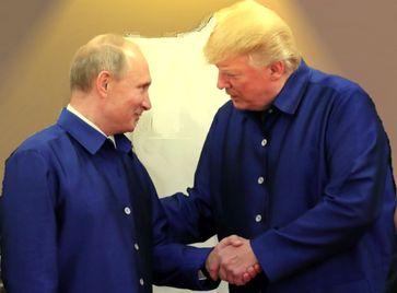 Wladimir Putin und Donald Trump (2017), Archivbild