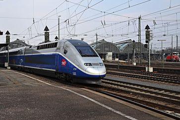 Ein TGV. Bild: Rudolpho Duba / pixelio.de