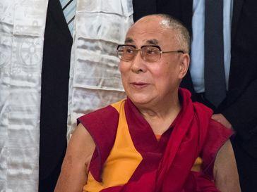 Tenzin Gyatso, der 14.Dalai Lama (2015)