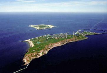 Helgoland aus der Vogelperspektive
