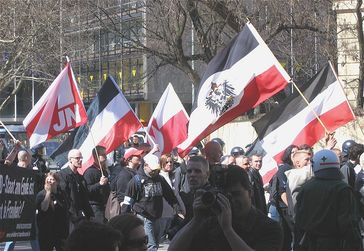 Neonazi-Demonstration am 2. April 2005 in München