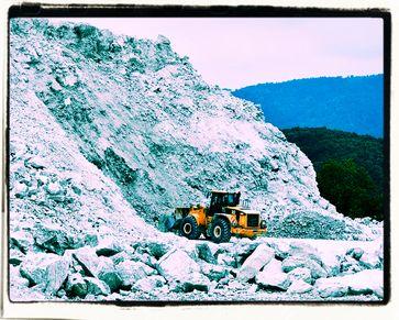 Gipsabbau: Ohne Kohlekraftwerke muß der Bedarf durch neue Abbaugebiete gedeckt werden (Symbolbild)