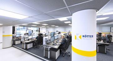 """Die neue Notruf- und Serviceleitstelle von KÖTTER Security in Essen. Bild: """"obs/KÖTTER Services"""""""