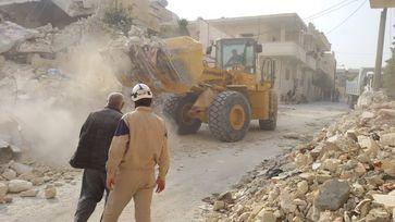 Syrischer Zivilschutz (Weißhelme)