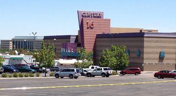 Das Kinogebäude, in dem die Tat geschah.