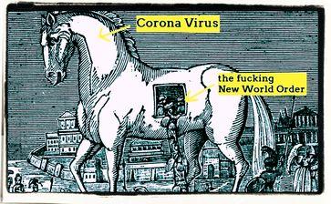 Es mehren sich die kritischen Stimmen, daß der harmlose Corona-Virus genutzt werden könnte um eine Neue Weltordnung einzuführen (Symbolbild)