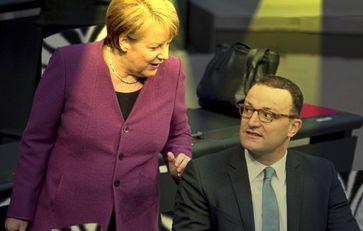 Angela Merkel und Jens Spahn (2018)