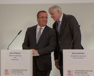 Boris Pistorius und Horst Seehofer (2018)