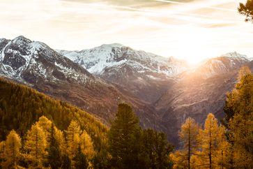Herbststimmung auf den Bergen in Gastein Bild:     Gasteinertal Tourismus GmbH, Marktl Manuel