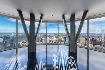 Empire State Building enthüllt neue Aussichtsplattform im 102. Stockwerk