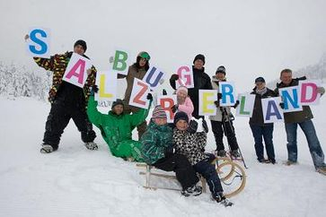 Erste Winterfreuden im SalzburgerLand Bild: Andreas Kolarik / SalzburgerLand Tourismus