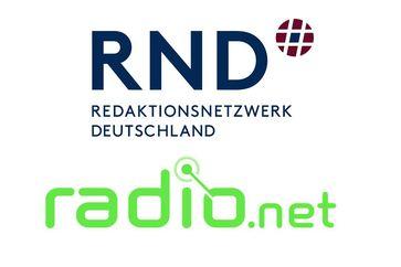 """Rücken eng zusammen: Das RedaktionsNetzwerk Deutschland (RND) und radio.net. Bild: """"obs/MADSACK Mediengruppe"""""""