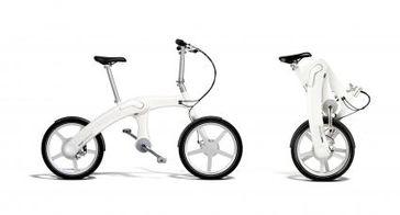 "Mando Footloose - das faltbare und kettenlose E-Bike mit Automobil-Know-how. Bild: ""obs/Mando Footloose"""