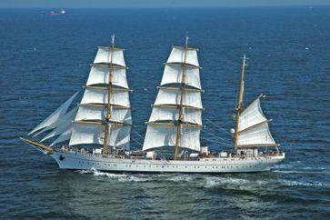 Segelschulschiff Gorch Fock Bild: Marine