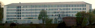 Gebäude des Bundesrechnungshofes in Bonn, ehemals Postministerium und Auswärtiges Amt