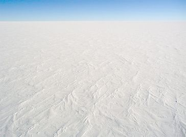 Die Eiswüste: Praktisch kein sichtbares Leben mehr und CO2-Neutral (Symbolbild)
