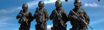 Hessische Polizei: Mittlerweile steht sie dem Militär in beinahe nichts mehr nach.