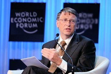 Bill Gates auf dem WEF (2021)
