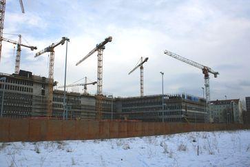 Baustelle der Zentrale des Bundesnachrichtendienstes (Symbolbild)