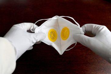 Schutzmaske (Symbolbild)