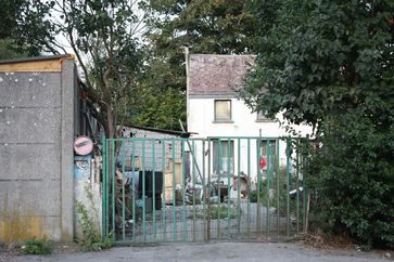 House owned by Dutroux in Marchienne-au-Pont.