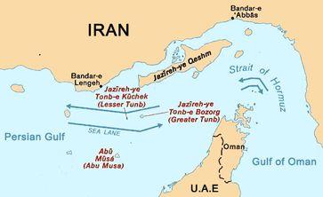 Straße von Hormus Bild: wikipedia.org