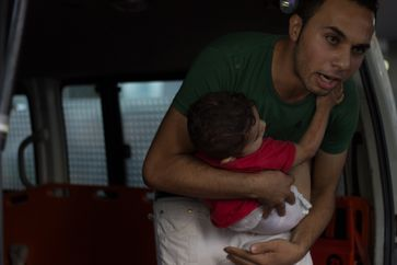 The aggressive acts of Israel against Palestinians in Gaza also affected children.