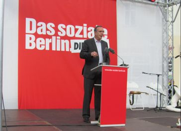 Harald Wolf Bild: DIE LINKE. Landesverband Baden-Württemberg, on Flickr CC BY-SA 2.0