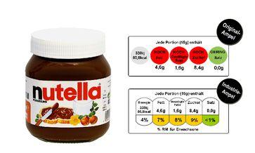 Wenn es nach der Zuckerindustrie geht, hat nichtmal Nutela rote Warnzeichen
