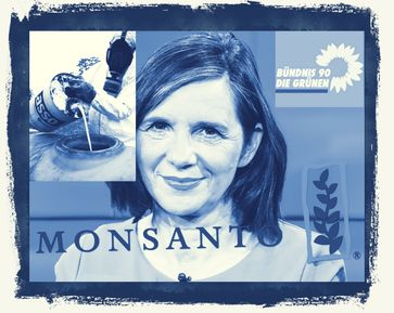 Auch Grünen-Fraktionschefin Katrin Göring-Eckardt (B90/Grüne) auf Monsanto-Liste