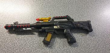 Spielzeugwaffe des 12-Jährigen. Bild: Bundespolizei