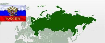 Russische Föderation Karte
