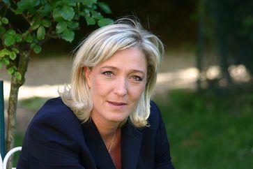 Marine Le Pen im Januar 2011. Bild: Front National / wikipedia.org
