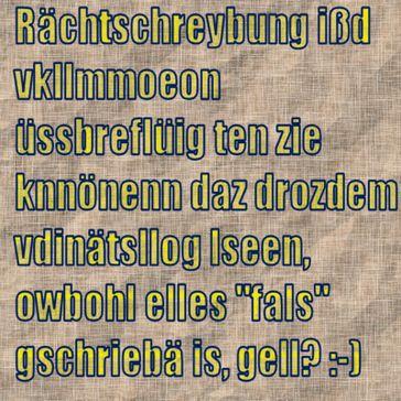 """Dieser Text beweist, Rechtschreibung und damit """"Legasthenie"""" ist maßlos überbewertet... (Symbolbild)"""