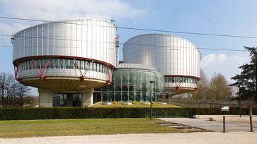 Gebäude des Europäischen Gerichtshofes für Menschenrechte (EGMR) in Straßburg