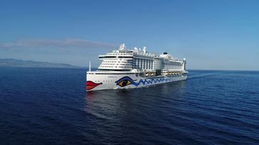 """AIDA Cruises eröffnete mit AIDAperla am 5. Dezember 2020 die Kanaren-Saison /  Bild: """"obs/AIDA Cruises"""""""