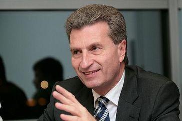Günther Oettinger Bild: Jacques Grießmayer
