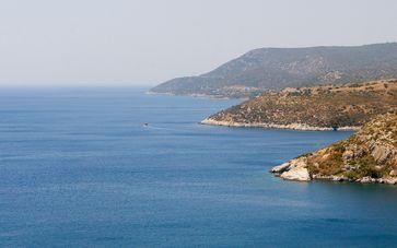 Küste der türkischen Stadt Izmir