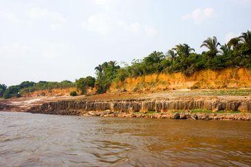 Flüsse transportieren schwarzen Kohlenstoff vom Land ins Meer. Quelle: (Bild: Gabriela Santilli, ETH Zürich) (idw)