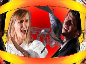 Gewalt wird heutzutage genauso von Frauen gegen Männer ausgeübt. Die Dunkelziffer ist dabei wesentlich höher als bei umgekehrten Fällen (Symbolbild)