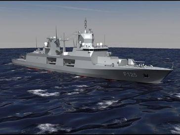 Frigatte MKS 180 F 126 Sachsen Klasse