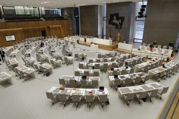 Der neue Plenarsaal, 2018