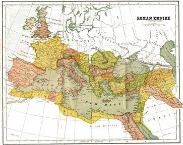 Das Römische Reich und seine Provinzen im Jahre 150