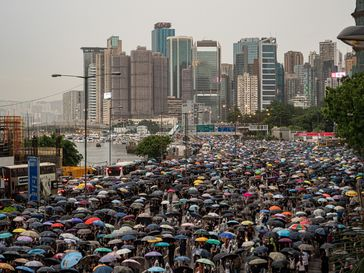 Proteste in Hongkong vom 18. August 2019