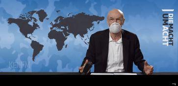 Die Macht um Acht: Panik-Maske - Blick zurück macht tagesschlau