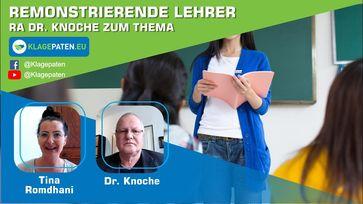 """Bild: SS Video: Lehrer remonstrieren – RA Dr. Knoche redet Klartext - Remonstration ist Pflicht! KPTV#40"""" (https://youtu.be/Bdw50qEBKgU) / Eigenes Werk"""